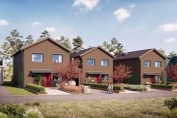 Bild: 5 rum radhus på Östra Sundskogsvägen, Uddevalla kommun Sundsstrand