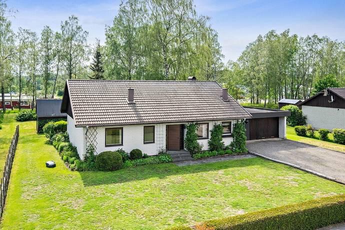 Bild: 5 rum villa på Stationsvägen 5, Falkenbergs kommun Ätran