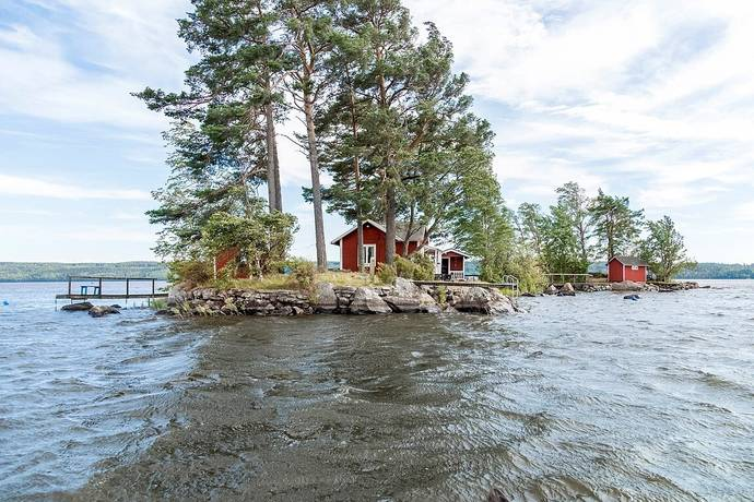 Bild: 2 rum fritidshus på Tunbohässle Små holmarna 394, Hallsbergs kommun Tisaren