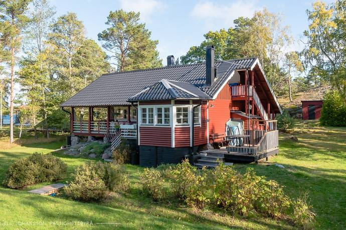 Bild: 3 rum villa på Norrö Rävedet 5, Haninge kommun Norrö sjöutsikt