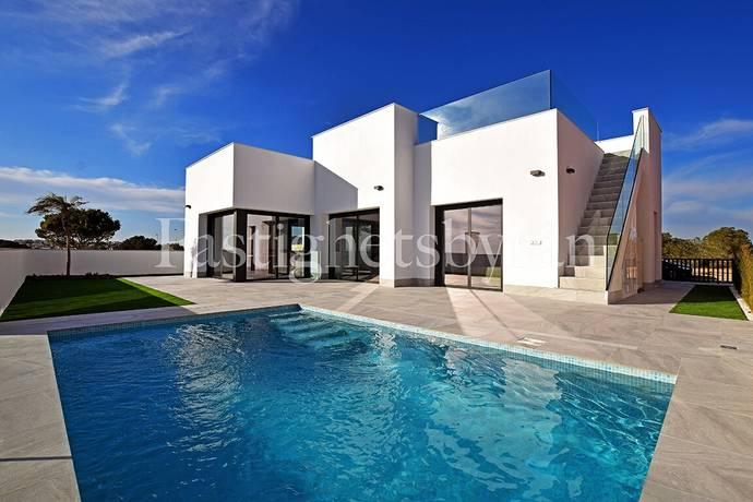 Bild: 4 rum villa på Nybyggd villa med fantastisk utsikt, Spanien Ciudad Quesada | Torrevieja