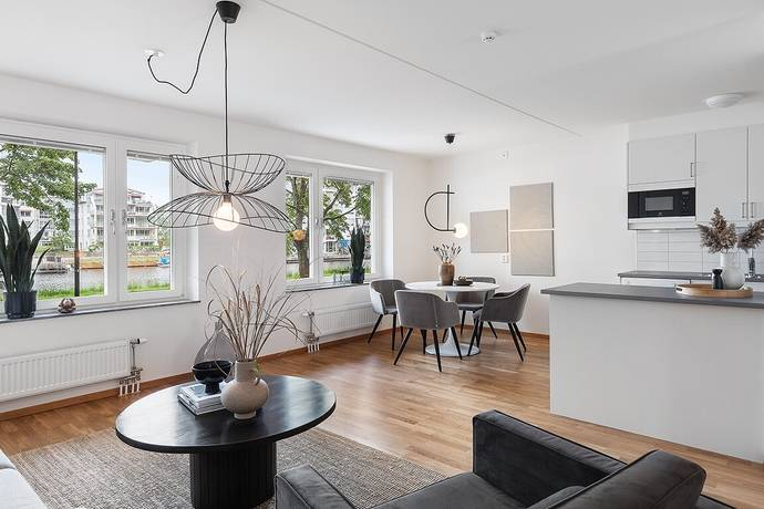 Bild: 3 rum bostadsrätt på Kanikenäsbanken 10, Karlstads kommun Inre hamn