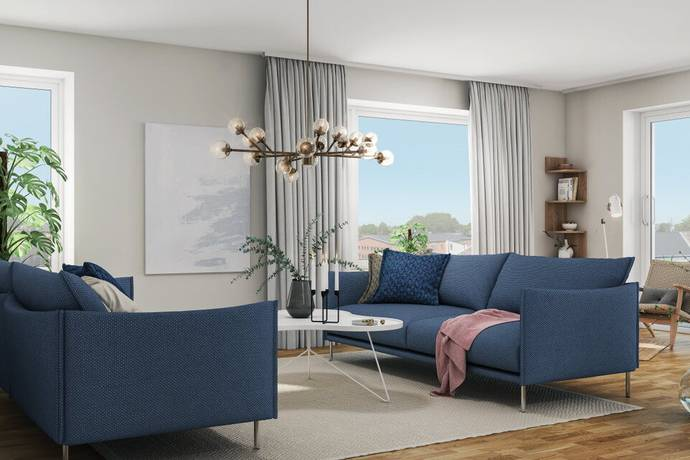 Bild: 3 rum bostadsrätt på Fridhemsgatan 34, lg 1203, Ystads kommun Ystad - Centralt