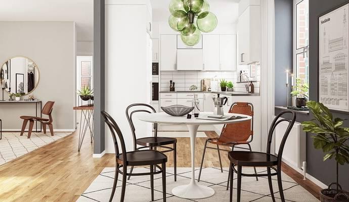 Bild: 2 rum bostadsrätt på Torgstråket, Solna kommun Råsunda