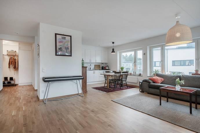 Bild: 3 rum bostadsrätt på Beckomberga Ängsväg 10, 4tr, Stockholms kommun Bromma - Beckomberga