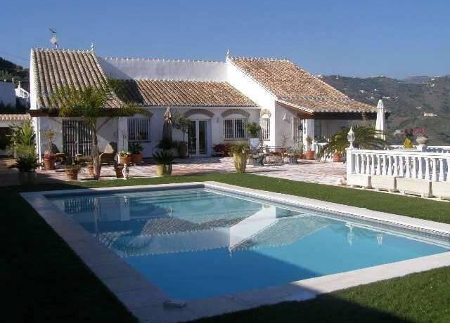 Bild: 6 rum villa på Exceptionell villa med fantastisk utsikt, Frigiliana, Spanien Frigiliana