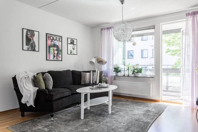 Bild: 3 rum bostadsrätt på Tulegatan 7, Sundbybergs kommun Centrala Sundbyberg