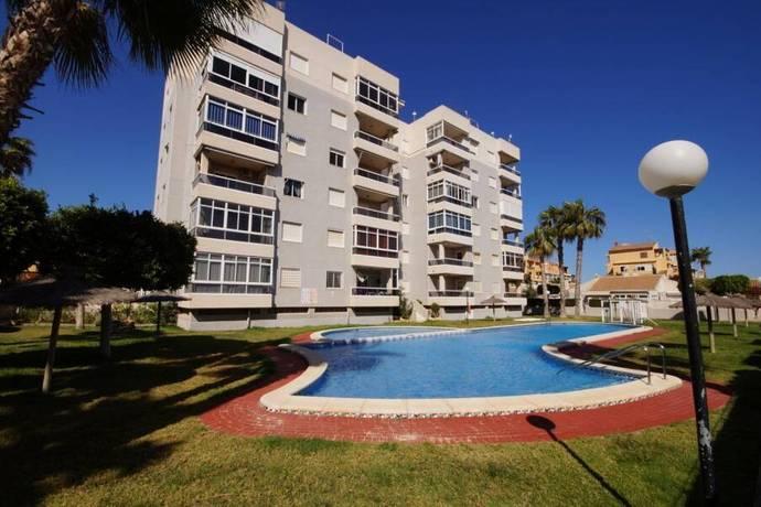 Bild: 3 rum bostadsrätt på Söderläge / Pool / Terrass, Spanien 3:a vid La Mata stranden