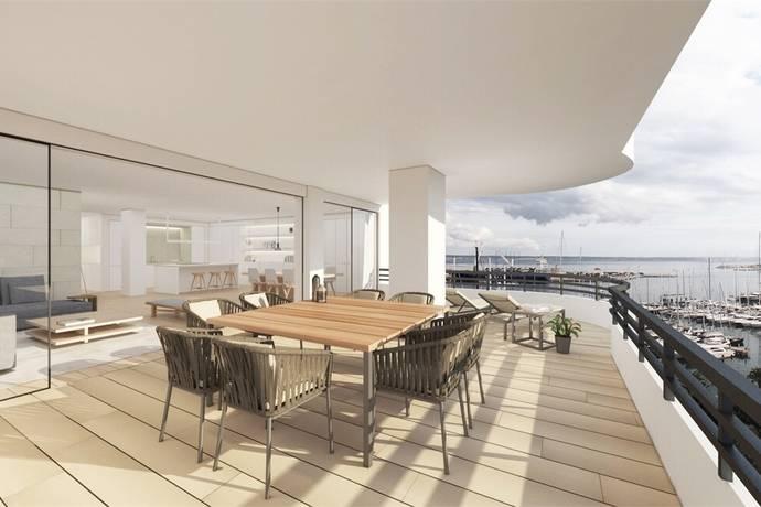 Bild: 6 rum bostadsrätt på Vacker designad våning - Havsutsikt, Spanien Palma | Mallorca