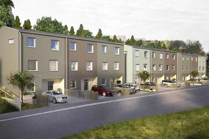 Bild: 7 rum radhus på Kv Björkgläntan, Göteborgs kommun Askim/Sisjön