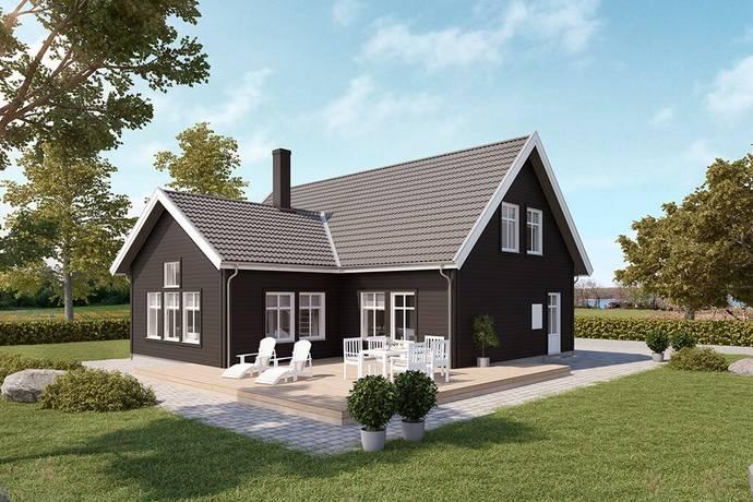 Bild: 3 rum villa på Kvarngatan 26d, Höörs kommun