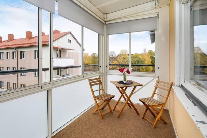 Bild: 1 rum bostadsrätt på Lundbladsvägen 5 B, Eskilstuna kommun Sveaplan