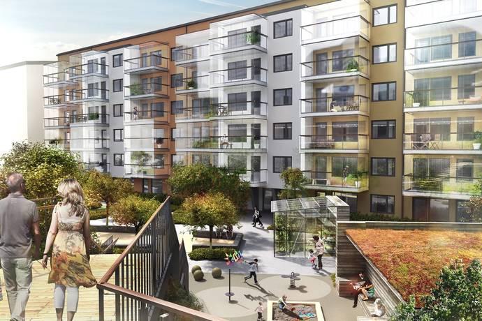 Bild: 4 rum bostadsrätt på Broslättsgatan  25, Mölndals kommun