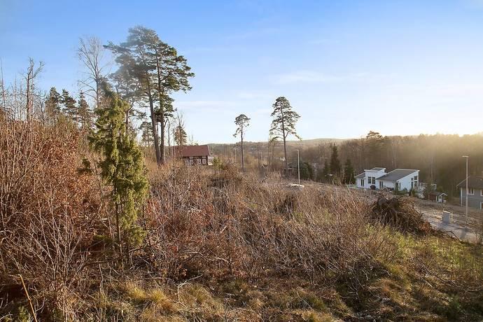 Bild: tomt på Johannebergsvägen X, Lerums kommun Floda