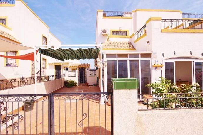 Bild: 4 rum radhus på Trädgård / Takterrass / Parkering, Spanien Radhus i Punta Prima