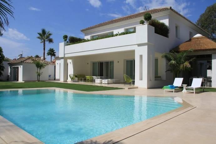 Bild: 6 rum villa på Modern villa med fantastisk trädgård och pool!, Spanien Marbella - San Pedro Playa