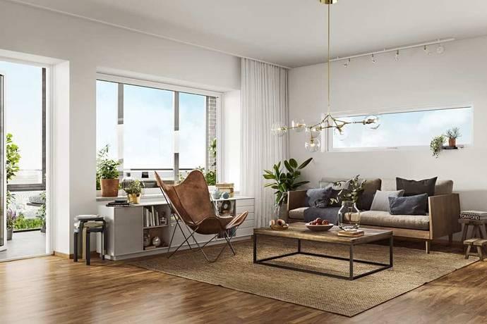 Bild: 2 rum bostadsrätt på Gamla Kronvägen 11, Partille kommun