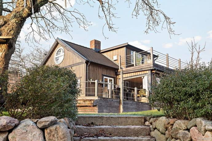 Bild: 6 rum villa på Stationsvägen 5, Ängelholms kommun Skälderviken