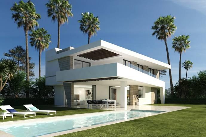Bild: 4 rum villa på 17 fantastiska nyproduktions villor med havsutsikt, Spanien Estepona - New Golden Mile
