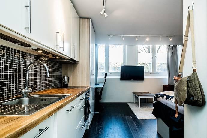 Bild: 1 rum bostadsrätt på Svärdlångsvägen 19A, Stockholms kommun Årsta