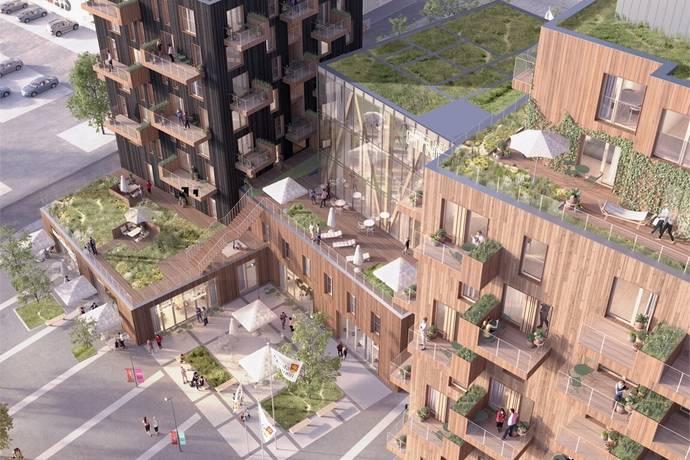 Bild: 1 rum bostadsrätt på Brf Sågverket, Knivsta kommun Centralt