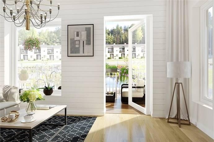 Bild: 3 rum bostadsrätt på Dammgatan 58A, Knivsta kommun Alsike