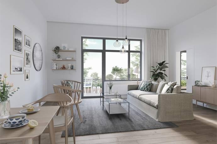Bild: 2 rum bostadsrätt på Skolbacken 55, Sigtuna kommun Centrala Sigtuna