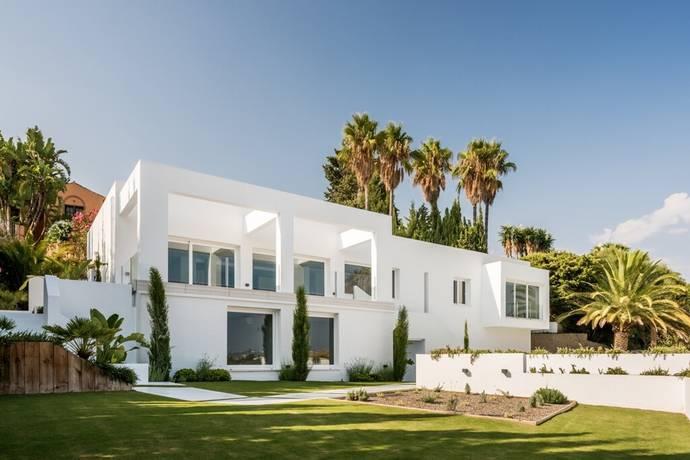 Bild: 7 rum villa på Nybyggd villa med härlig utsikt, Spanien Marbella - El Paraiso