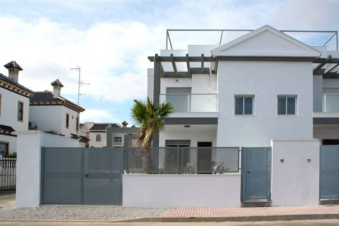 Bild: 4 rum bostadsrätt på Oasis Place, 3 sovrum m trädgård och takterrass, Spanien Costa Blanca - Playa Flamenca