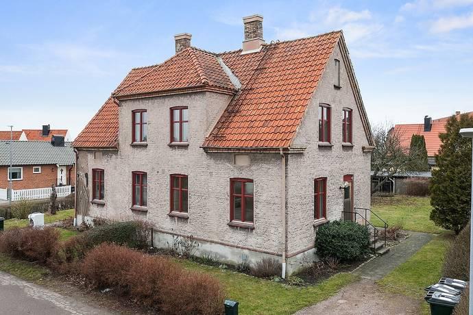 Bild: 3 rum radhus på Lilla Rydsgatan 8A, Höganäs kommun Höganäs