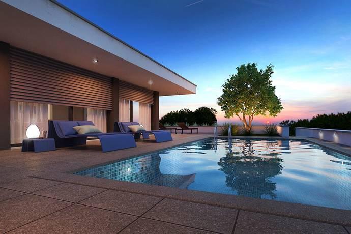 Bild: 4 rum villa på Arkitektritad villa, nybyggnation, Portugal Silverkusten