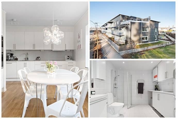 Bild: 4 rum bostadsrätt på Vikaholmsallén 9A, Växjö kommun Vikaholm