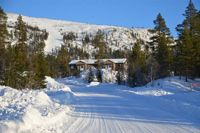 Bild: 4 rum bostadsrätt på Bostadsrättsföreningen Vemdalen Lodge 1, Härjedalens kommun Vemdalsskalet/Klockarfjället