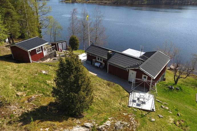 Bild: 2 rum fritidshus på Arvidstorpsvägen 2, Kristinehamns kommun Bergsjön