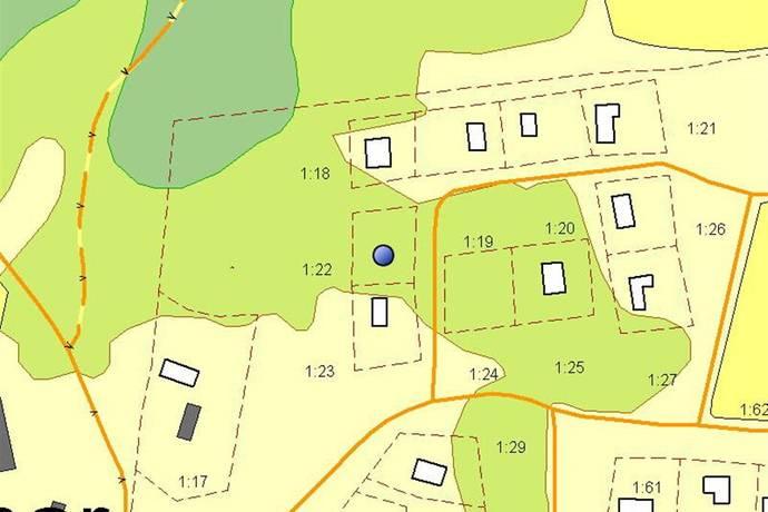 Bild: tomt på Lärkvägen 15, Ulricehamns kommun Alhammar