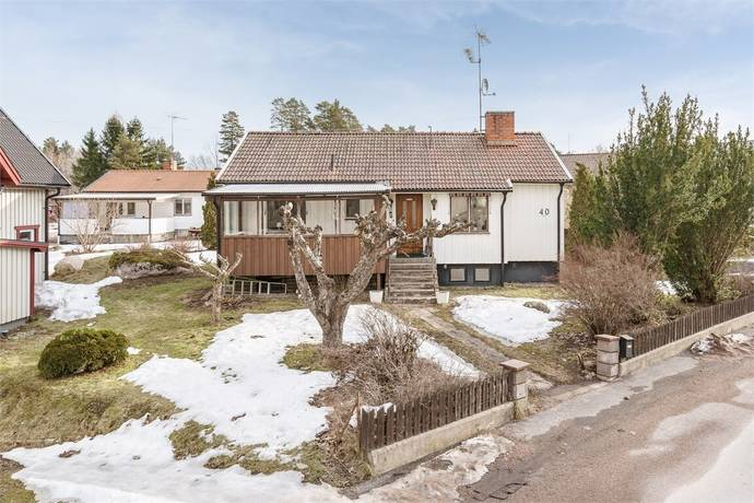 Bild: 3 rum villa på Palmgatan 40, Tierps kommun Tierp