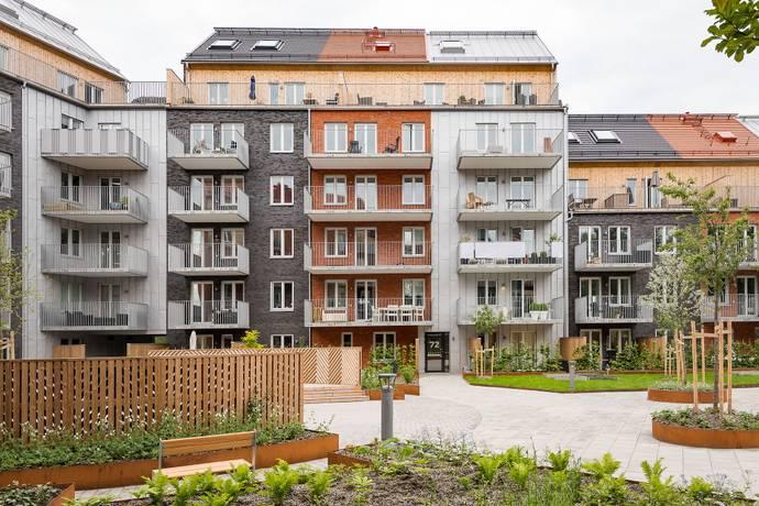 Bild: 2 rum bostadsrätt på Klåvavägen 72, Göteborgs kommun Nya Hovås