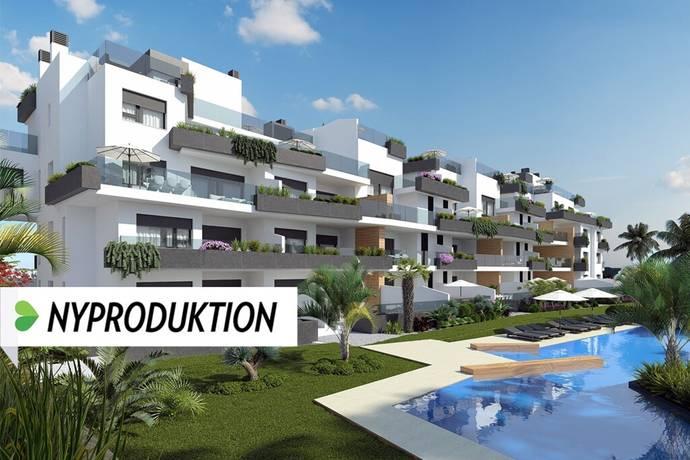 Bild: 4 rum bostadsrätt på Etagevåningar med imponerande utsikt, Spanien Torrevieja Söder - Villamartin
