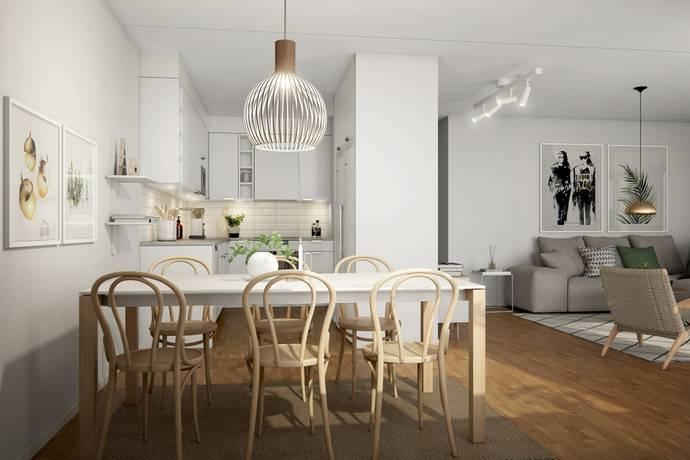 Bild: 2 rum bostadsrätt på Glasbrukskajen, Malmö kommun Limhamns sjöstad