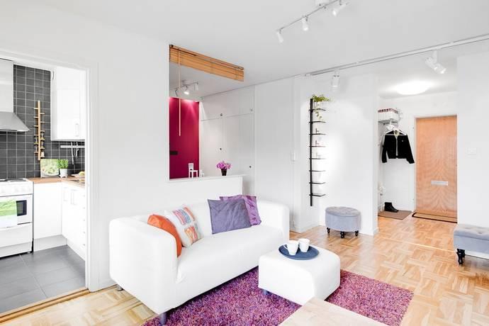 Bild: 1 rum bostadsrätt på Eriksbergsvägen 9, Uppsala kommun Kåbo