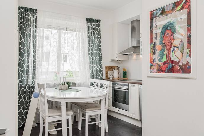 Bild: 1 rum bostadsrätt på Döbelnsgatan 5, Borås kommun Norrmalm