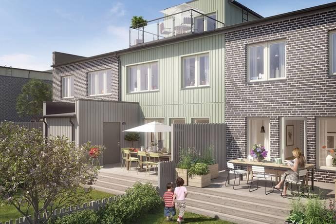 Bild: 6 rum radhus på Bäcklösavägen 32, Uppsala kommun Ultuna