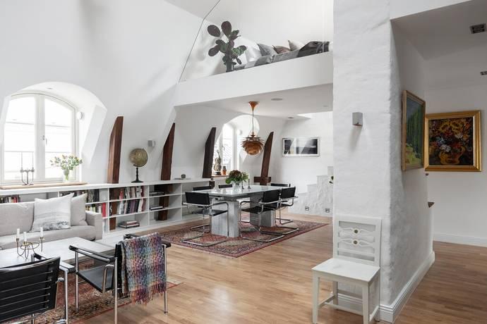 Bild: 4 rum bostadsrätt på Rehnsgatan 21, 5 tr., Stockholms kommun Vasastan