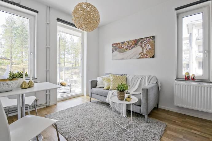 Bild: 2 rum bostadsrätt på Sandstuguvägen 55, Botkyrka kommun Uttran