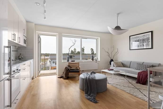 Bild: 1 rum bostadsrätt på Meteorvägen 26, Uppsala kommun Fullerö Hage