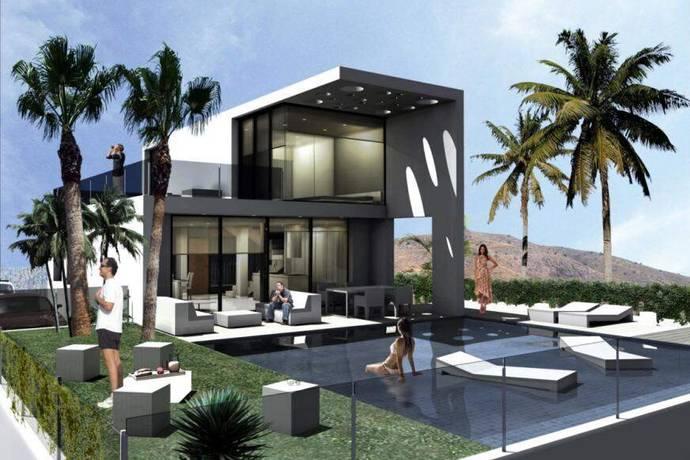 Bild: 5 rum villa på Villa i Finestrat, Alicante, Spanien Finestrat