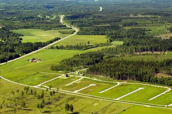 Bild: tomt på Bångbovägen, Gagnefs kommun Djurås