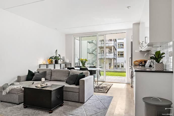 Bild: 2 rum bostadsrätt på Nissabogatan 22, Halmstads kommun Centralt-Nissastrand