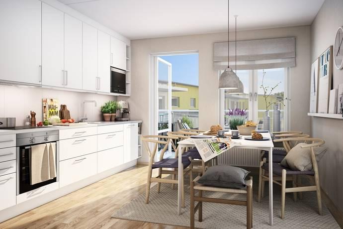 Bild: 4 rum bostadsrätt på Hertig Karls Allé 7, Örebro kommun Vasastan