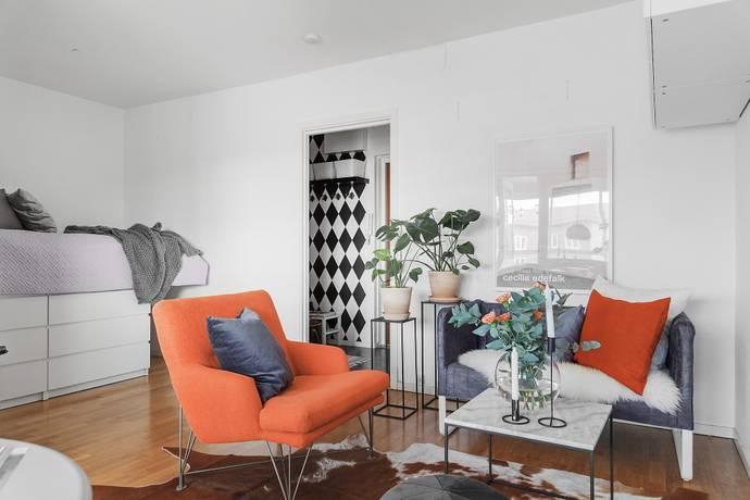 Bild: 1 rum bostadsrätt på Amiralsgatan 96B, Malmö kommun Östra Sorgenfri